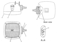 153-2522 153-2522: Lamp Assembly Caterpillar
