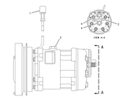 106-5122 106-5122: Compressor Caterpillar