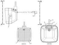 176-0780 176-0780: Lamp Assembly Caterpillar